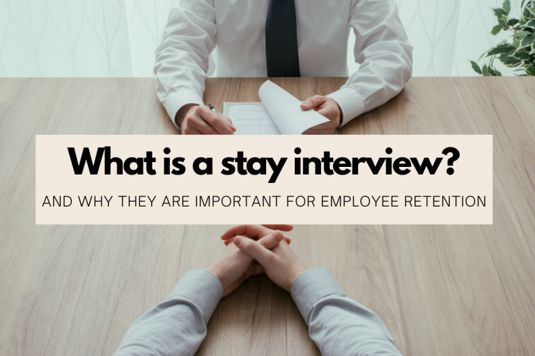 What is a stay interview
